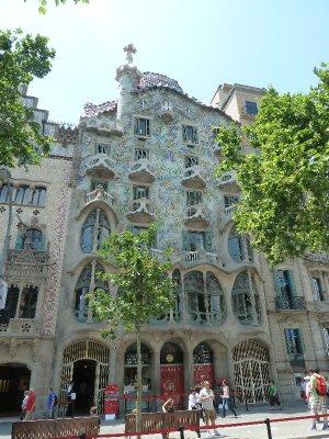 Modernist facade