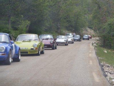Porsche rally, Mont Ventoux