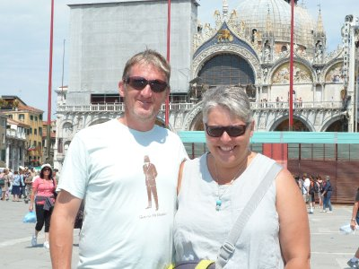 In St Mark's Square