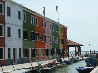 Fishing houses, Burano