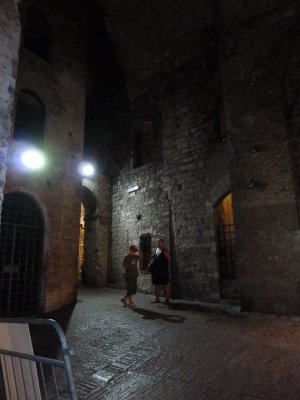 In the city walls