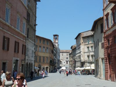 Perugia main drag