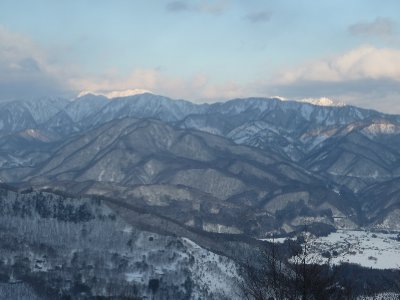 Hakuba valley sunset