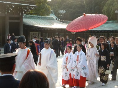 Traditional Wedding, Meiji Shrine