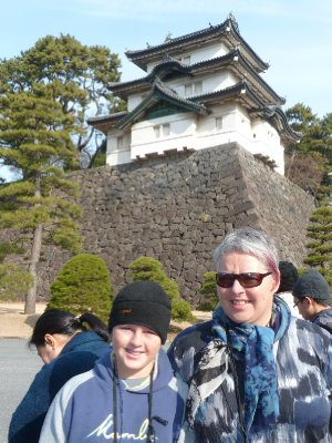 Mt Fuji view keep, Imperial Palace