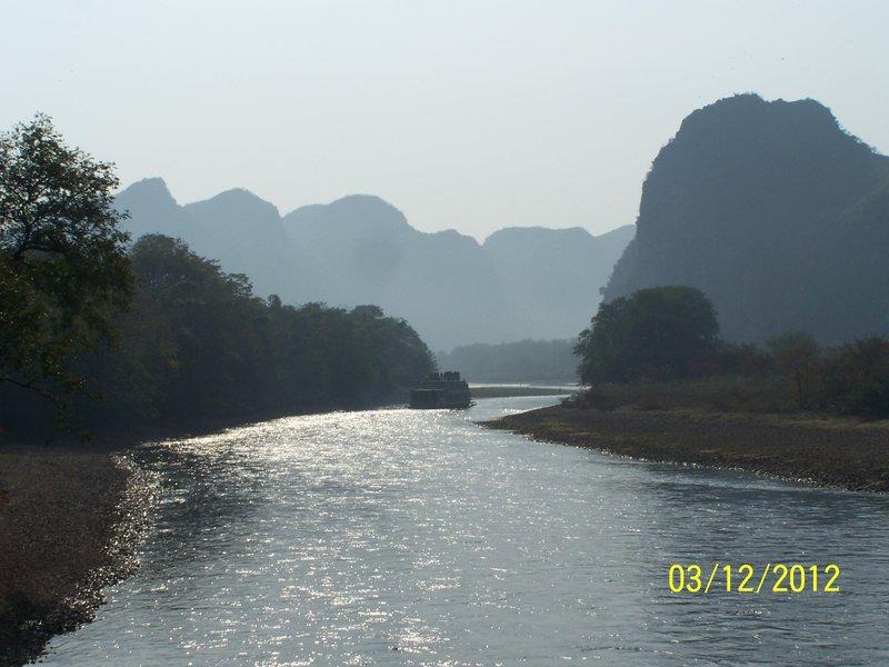 Río Li, Guilin, China