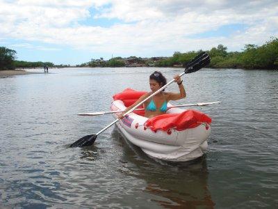 Kayaking at Las Peñitas
