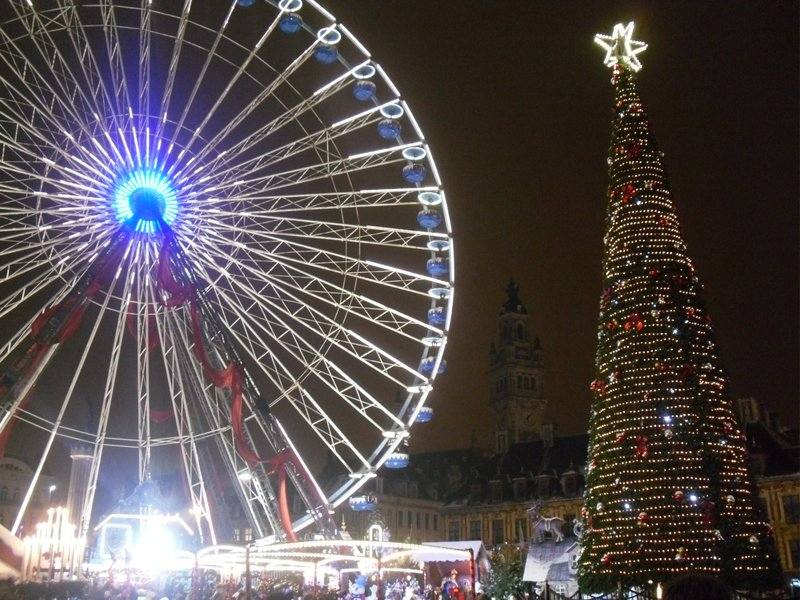 Christmas Market in Lille, France