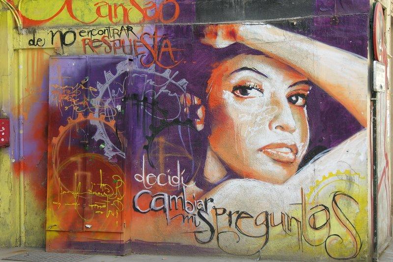 More wall art in Granada