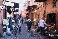 In the Medina, Marrakech