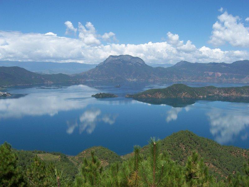 lugu lake in Yunnan province
