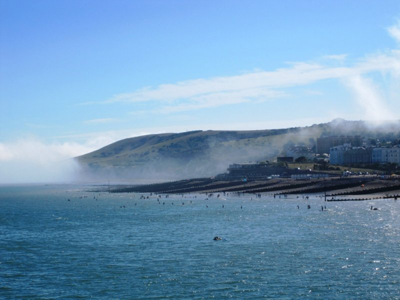 View from Eastbourne Pier