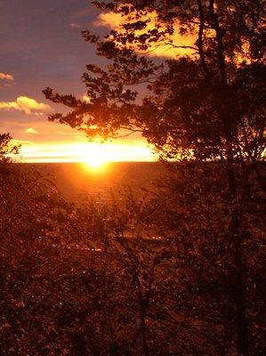Porcupine Mt. Sunset