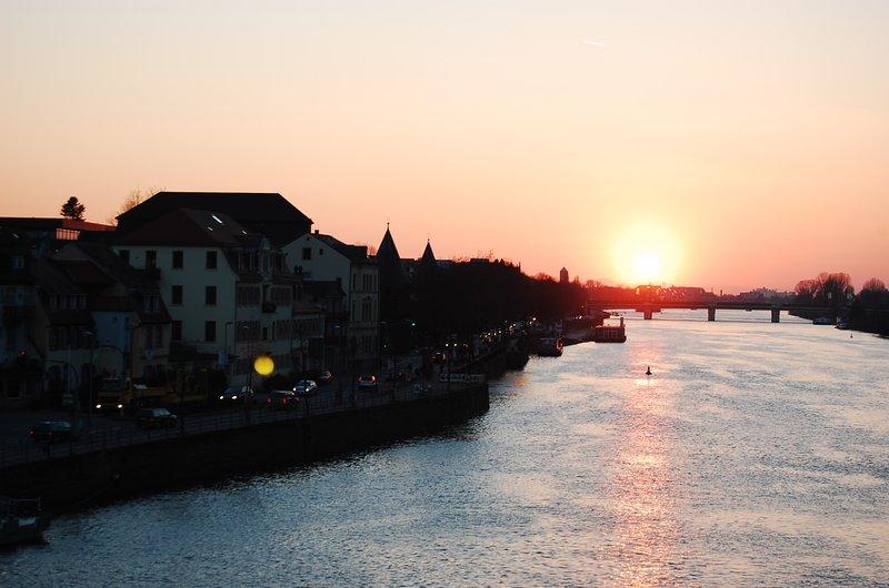 Sunset over Heidelberg