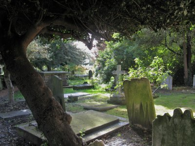 Parish cemetery, Hampstead