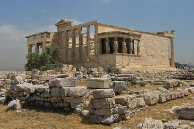 Erechtheion temple - south side