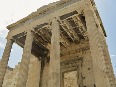 Acropolis Entry gate detail (Propylaea)