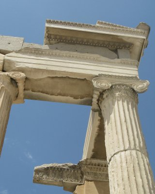 Erechtheion temple detail