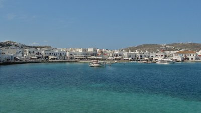 Mykonos harbour