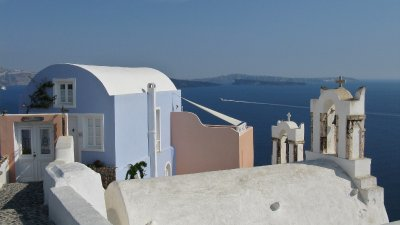 Oia pastels
