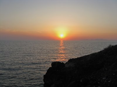 Sunset from Ammoudi