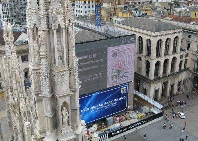 Big screen - Piazza Duomo