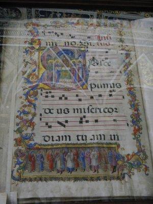 Illuminated psalter - Piccolomini Library