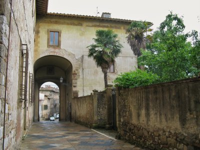 San Gimignano side street