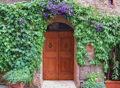 Monteriggioni door