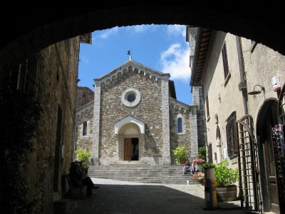 Panzano church - Santa Maria