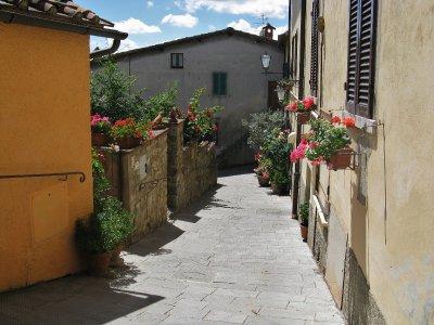 Side street, Castellina in Chianti