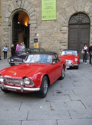 Classic car show - Piazza Signorelli