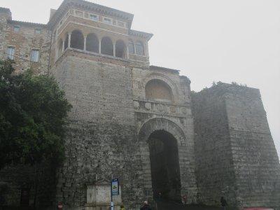 Etruscan arch - Porta Augusta