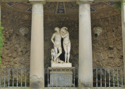 Adam and Eve grotto, Boboli Gardens