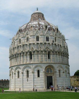 Cathedral baptistry