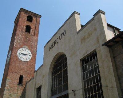 Market and clocktower