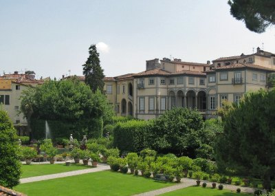 Palazza Pfanner and garden