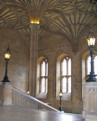 Christ Church Hall - entry staircase