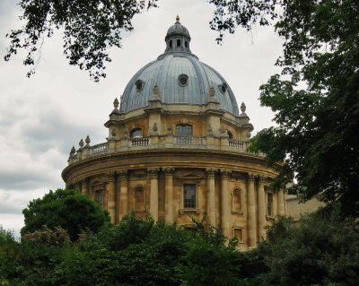 Radcliffe Camera from Exeter College Fellows Garden