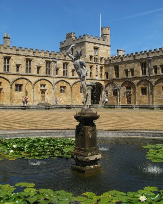 Mercury fountain, Tom Quad, Christ Church