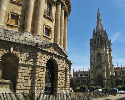 Radcliffe Camera and University Church St. Mary the Virgin