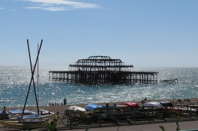 Old west pier