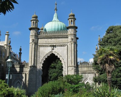 Royal Pavilion, sold off by Queen Victoria who hated Brighton