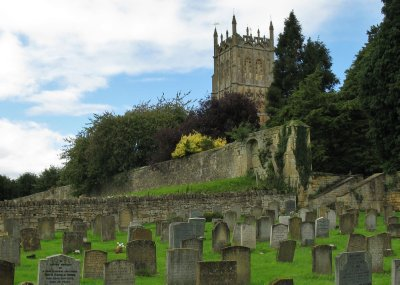 St. James Church and boneyard