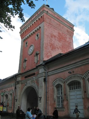 Entrance to Suomenlinna fortress