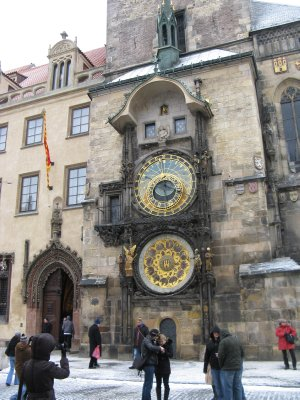 Astronomical clock, town hall