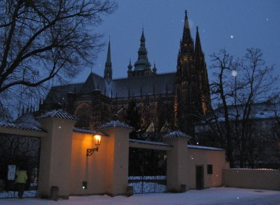 Prague Castle - St. Vitus Cathedral