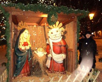Nativity scene - Mala Strana