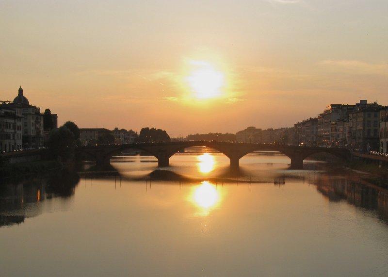 Ponte Vecchio towards Ponte Trinita