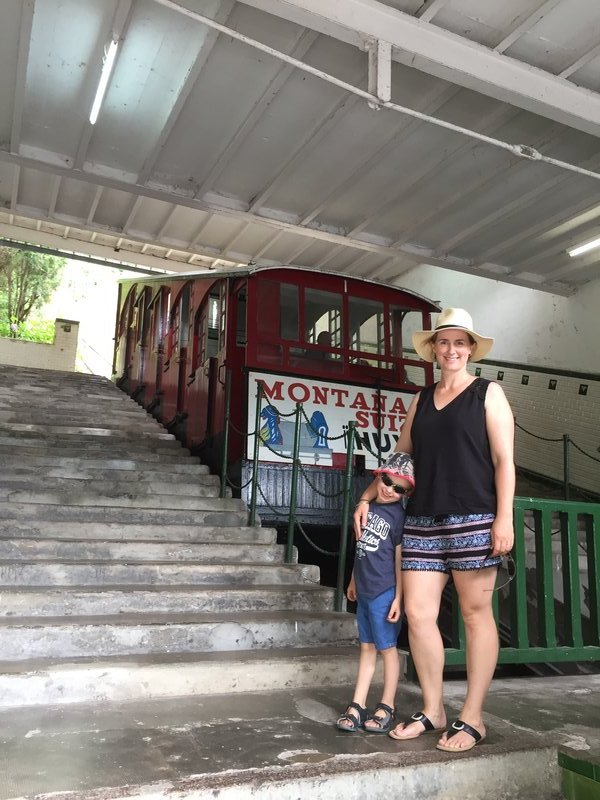 Funicular to Monte Igueldo, San Sebastián